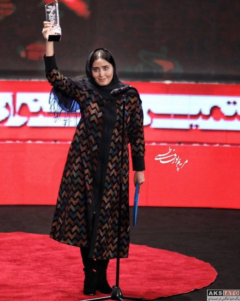 elnaz shakerdoost winner of iranian fajr movie awards